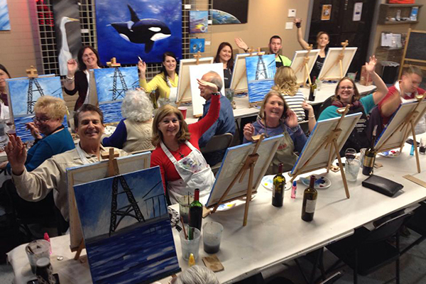Private Art Parties